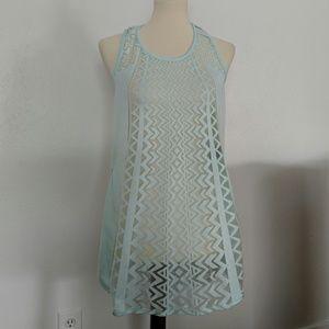 Seafoam Green Swimsuit Coverup